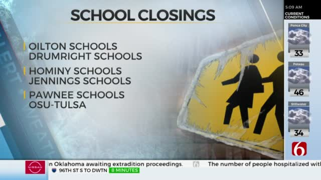 Schools, Businesses Closed For Wednesday, Oct. 28