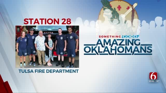 Amazing Oklahomans: Tulsa Fire Department Station 28