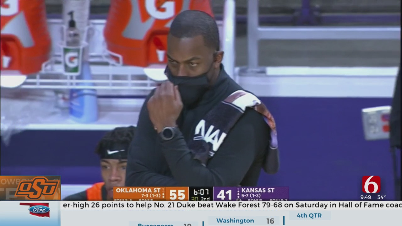 Hot Second Half Shooting Carries Oklahoma State Over Kansas State