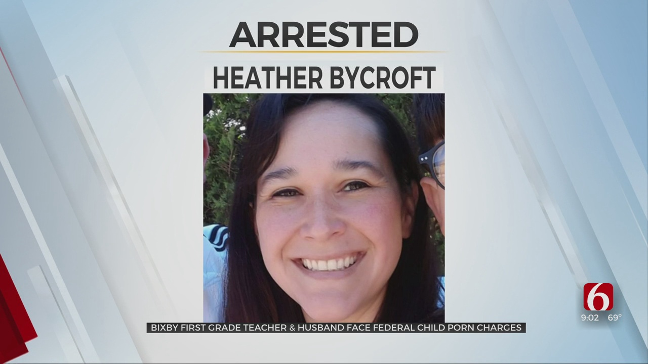 Bixby First Grade Teacher Arrested, Accused Of Making Child Porn With Husband