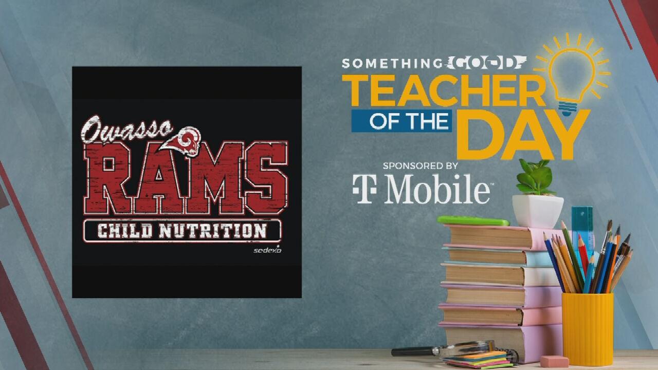 Teachers Of The Day: Owasso Schools Child Nutrition Department Staff