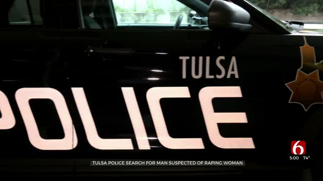 Tulsa Police Search For Man Charged With Raping Woman