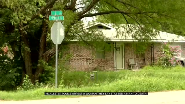 McAlester Police Arrest Woman They Say Is Accused Of Stabbing Man To Death