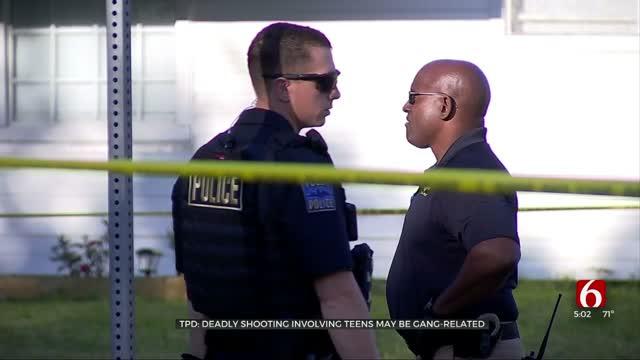 Tulsa Police: 1 Arrested After Murder, Possibly Gang-Related