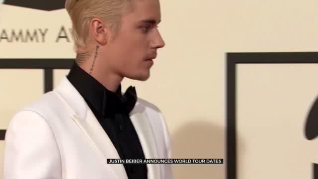 Justin Bieber Announces Rescheduled World Tour Dates