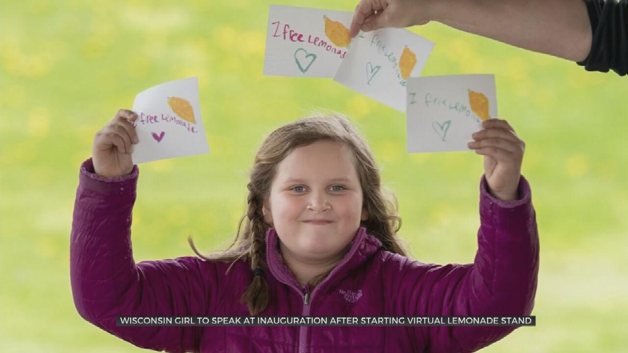 Girl's Virtual Lemonade Stand Catches Eye Of Biden's Inaugural Team