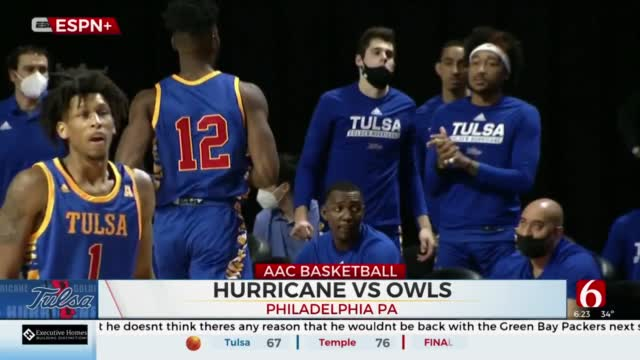 TU Struggles To Hit Shots In Road Loss To Temple