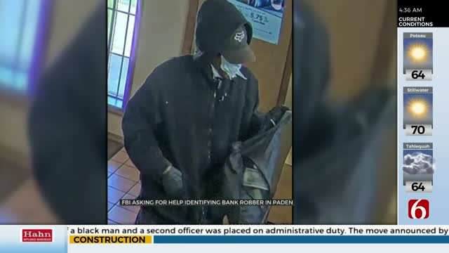 FBI Investigating After Okfuskee County Bank Robbery