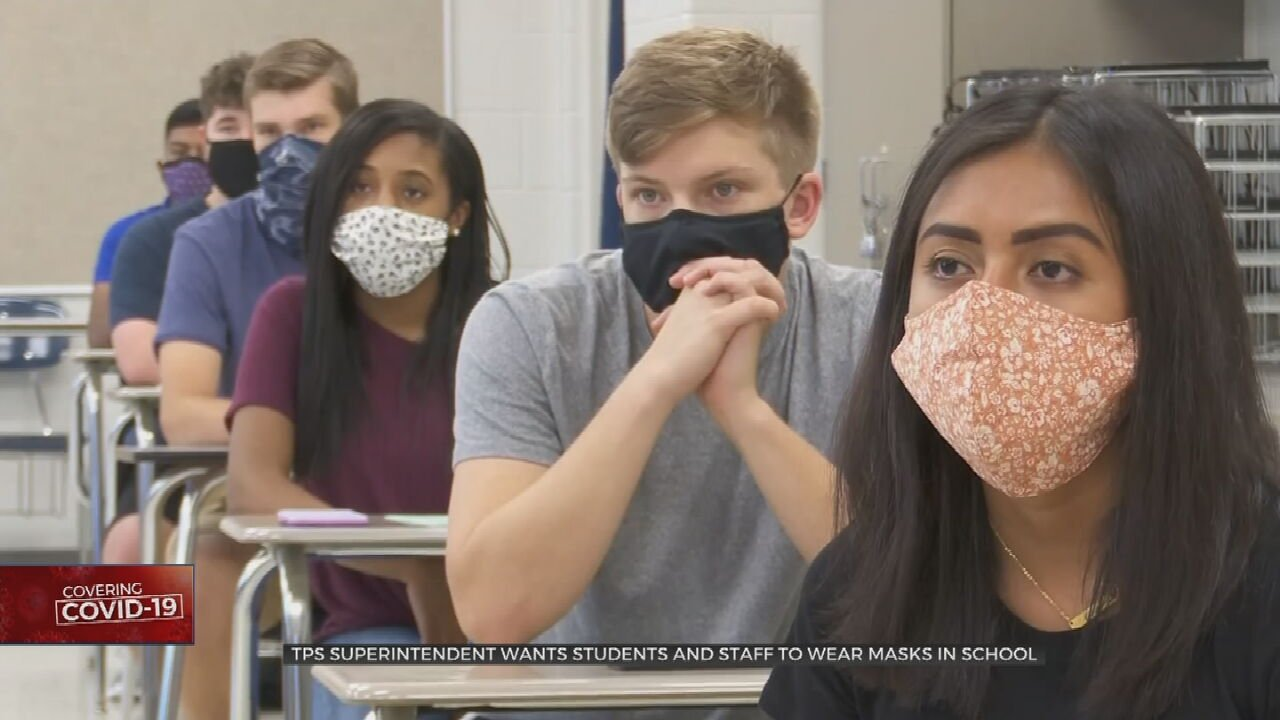 TPS Expects Students To Wear Masks This Fall But State Law Prohibits Schools From Enforcing Masks