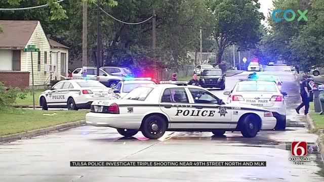 Tulsa Police Investigate Triple Shooting