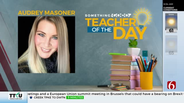 Teacher Of The Day: Audrey Masoner