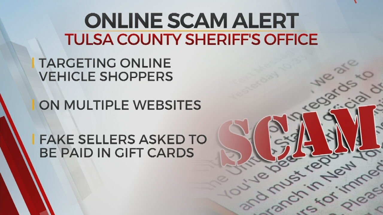 TCSO Warns Of Scam Targeting Online Car Buyers