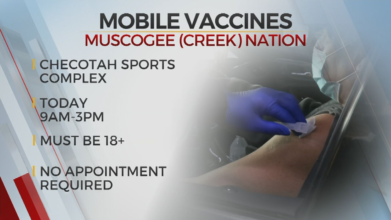 Muscogee (Creek) Nation Holds Vaccination Event In Checotah