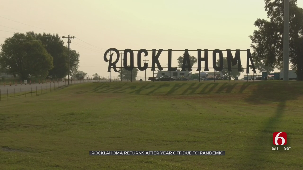Rocklahoma Returns To Pryor For The First Time In 2 Years