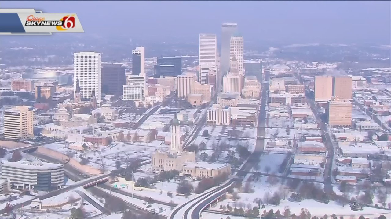 Road Crews Prepare For More Snow, Ice In Eastern Oklahoma
