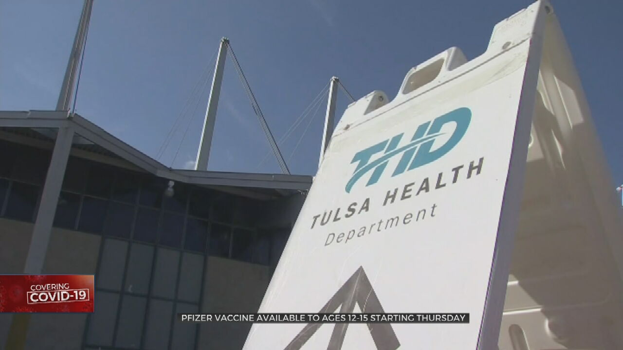Tulsa Health Dept. To Begin Administering Pfizer COVID-19 Vaccines To 12-15-Year-Olds