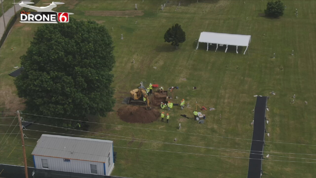 Archaeologists Discover Three More Burials in Mass Grave at Oaklawn Cemetery