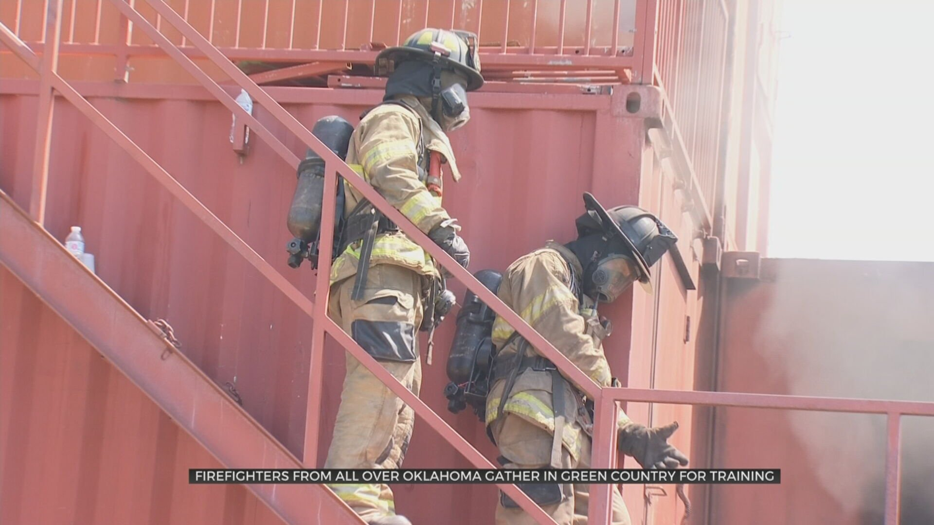 Firefighters From Across Oklahoma Gather In Green Country For Training