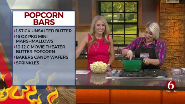 Confetti Popcorn Bars