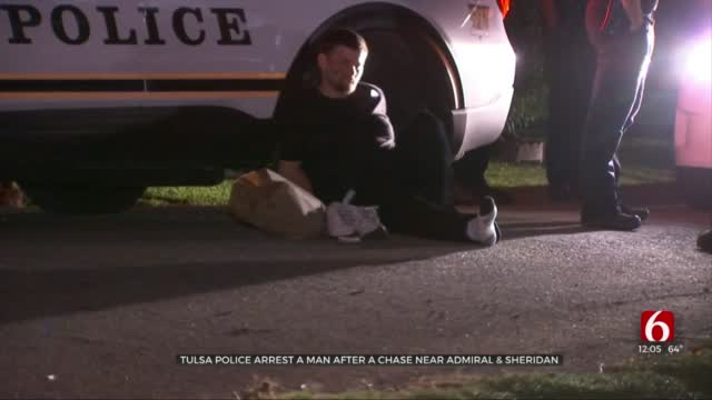 Man Arrested After Chase Near Admiral & Sheridan