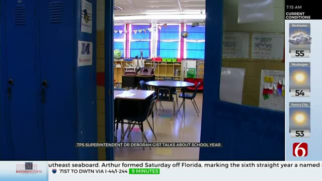 Watch: TPS Superintendent Discusses Next School Year, Plan For Coronavirus Impacts