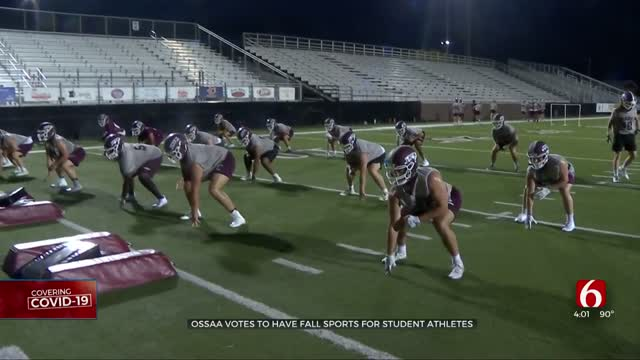 UPDATE: Fall High School Sports Happening, OSSAA Does Not Delay Or Cancel Season