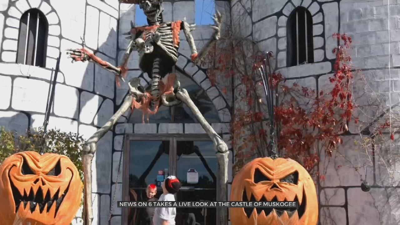 Castle Of Muskogee Holds Halloween Festival
