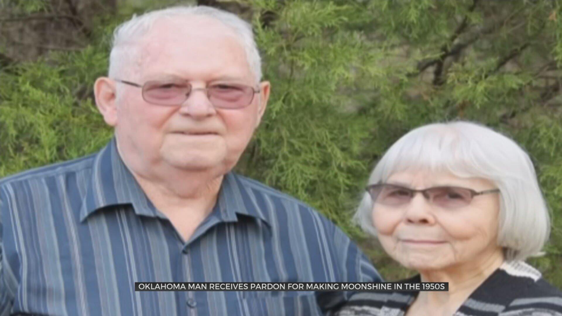 Oklahoma Man Receives Presidential Pardon For Making Moonshine In 1950s
