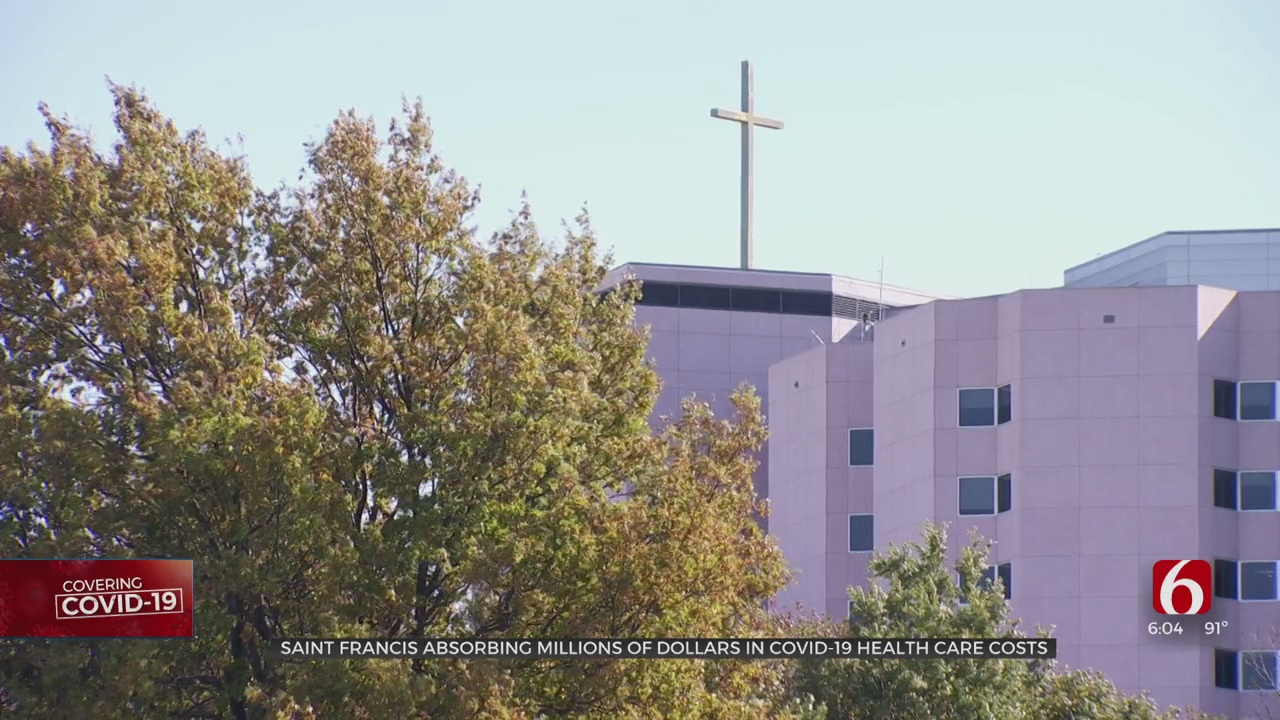 Saint Francis Absorbing Millions Of Dollars In COVID-19 Healthcare Expenses