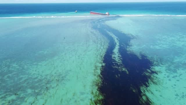 Mauritius Seeks Compensation As Oil Spill Cleanup Continues