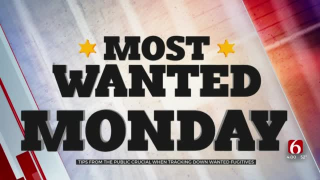 'Most Wanted Mondays,' Public Helping U.S. Marshals Catch People Wanted With Felony Warrants