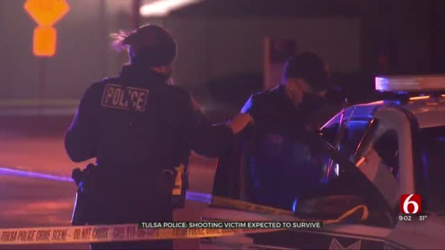 Tulsa Police: Shooting Victim Expected To Survive