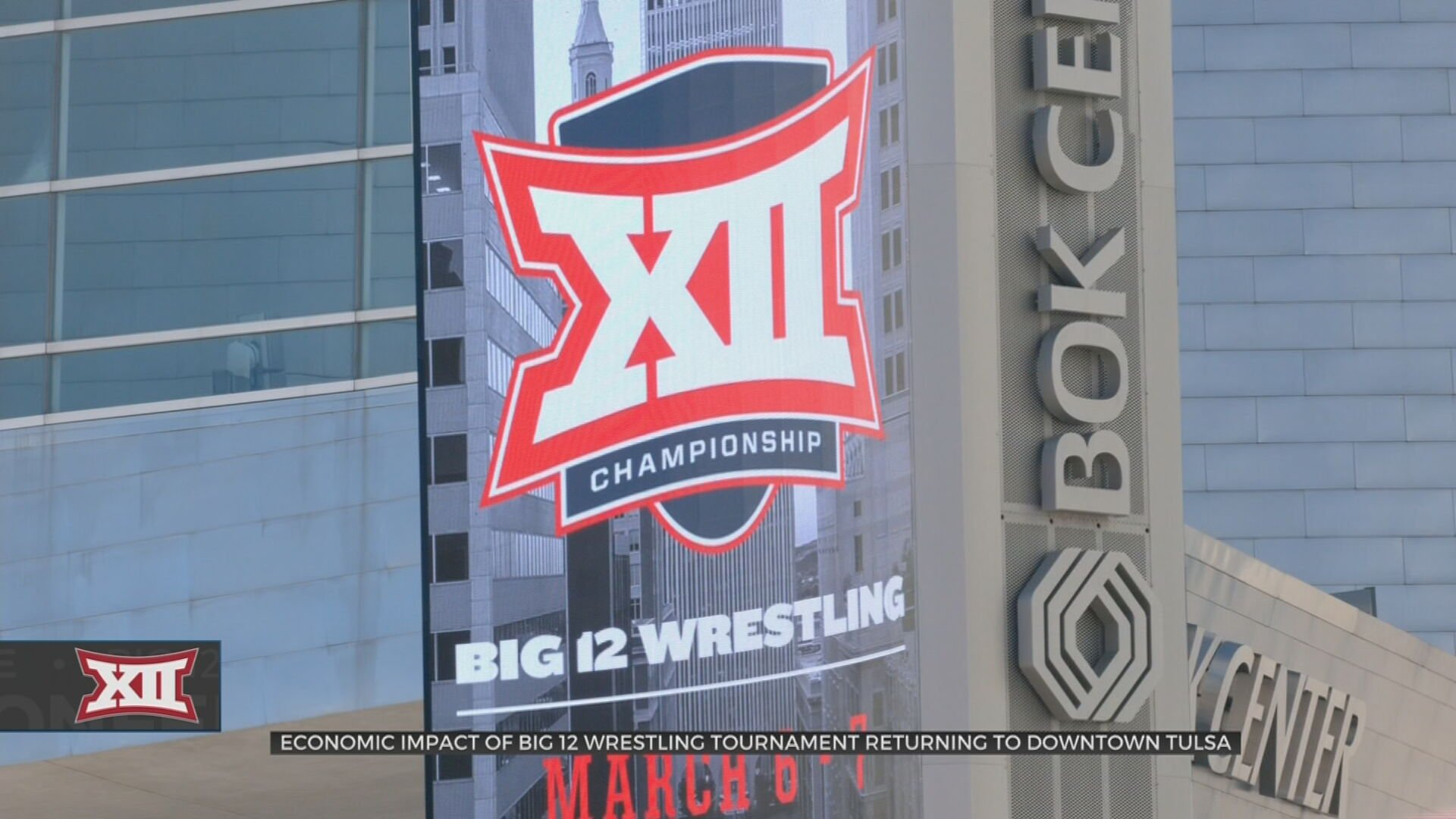 Tulsa Tourism Expecting Economy Boom From Big 12 Wrestling Tournament