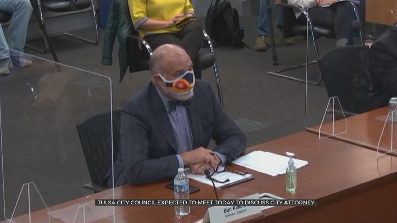 Tulsa City Attorney David O'Meilia Facing Vote Of No Confidence In City Council Meeting