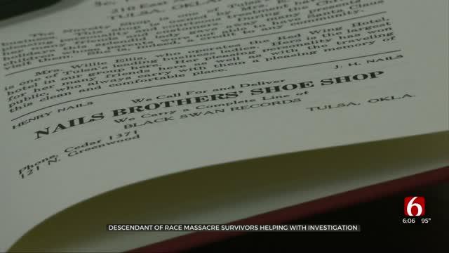 Descendant Of Race Massacre Survivors Plays Important Role In Oaklawn Search