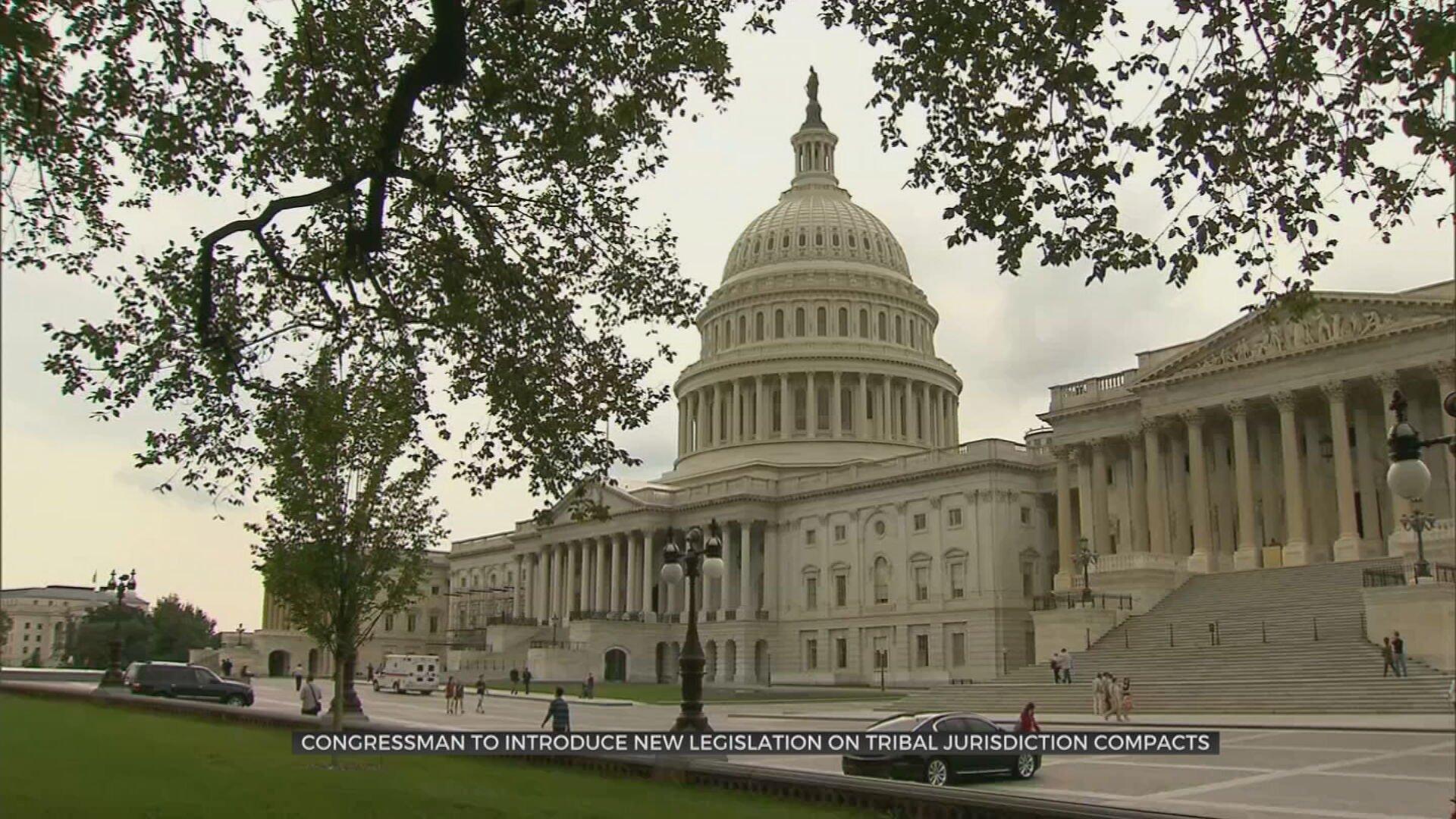 Oklahoma Congressman To Introduce Legislation On Tribal Jurisdiction Compacts