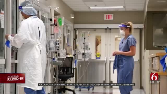Oklahoma Updates Surge Plan Amid Record-Setting Hospitalizations