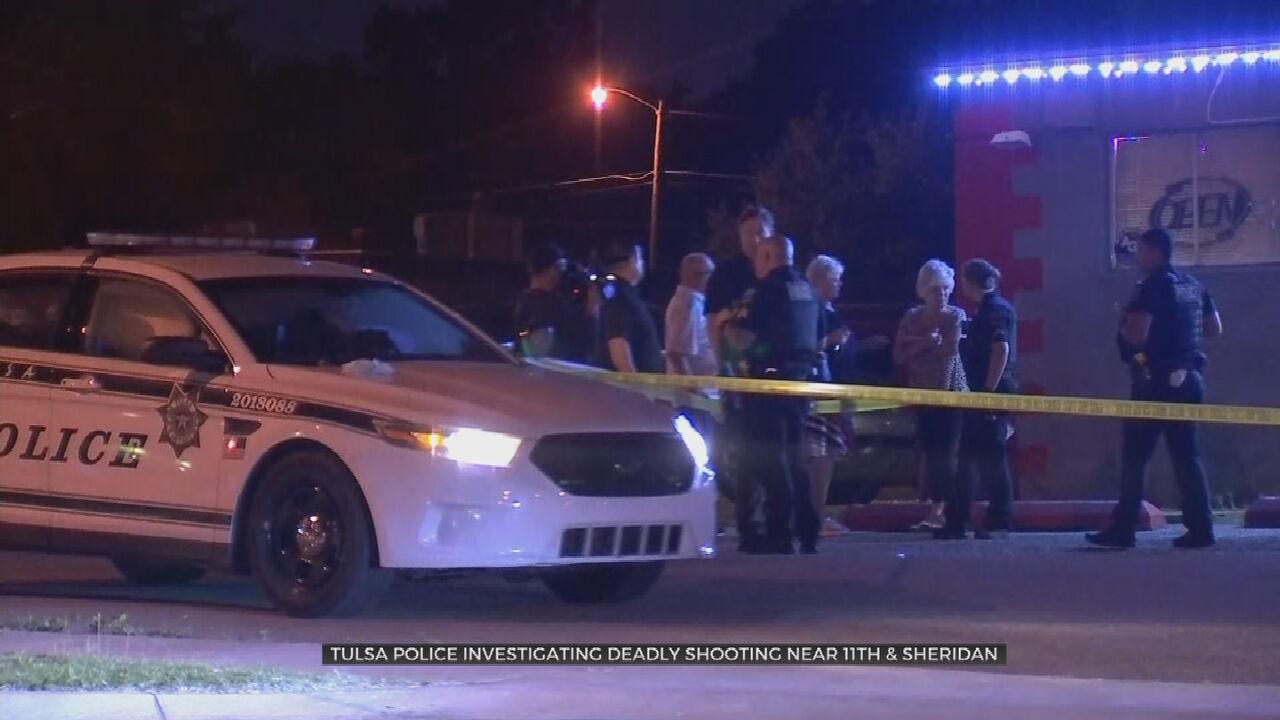Tulsa Homicide Detectives Investigate After Man Shot,  Killed Outside Midtown Bar