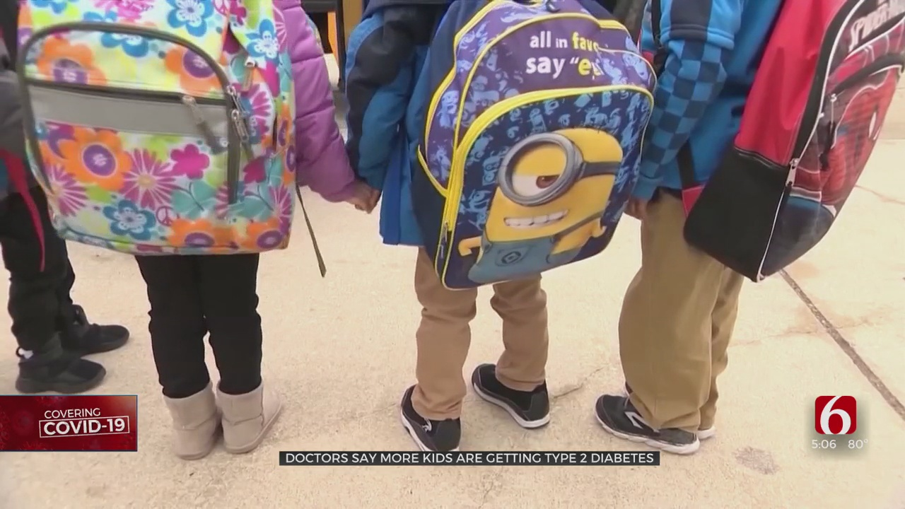 Doctors See Increase In Type 2 Diabetes Among Kids Due To Pandemic