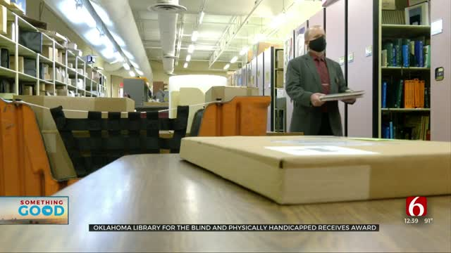 Something Good: Oklahoma Library Honored By Library Of Congress