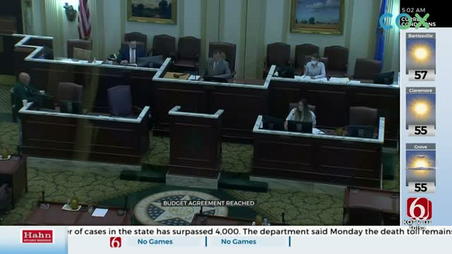 State Legislature Reaches Agreement On Upcoming Fiscal Year Budget