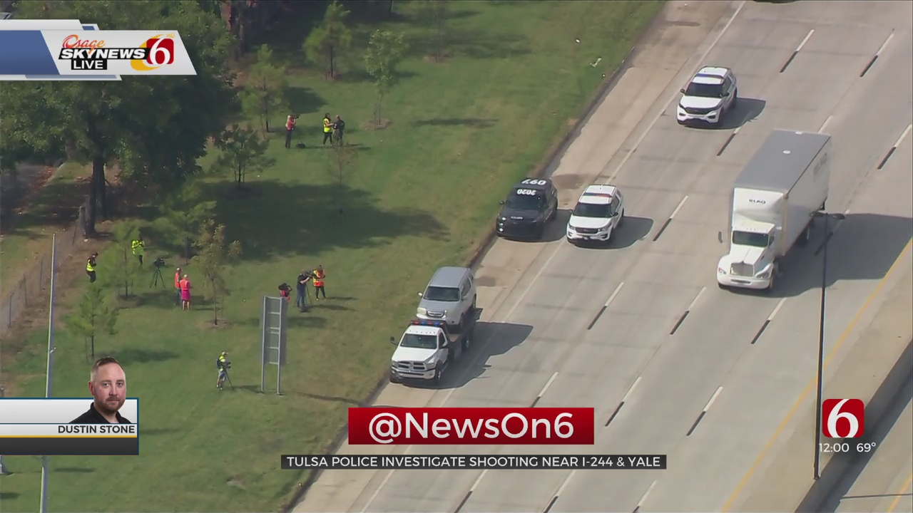 Woman Shot While Driving On Tulsa Highway, TPD Confirms