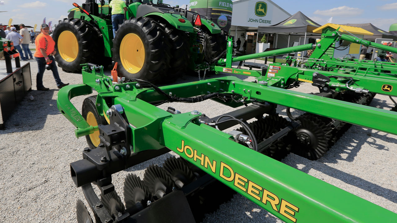 More Than 10,000 John Deere Workers Go On Strike At 14 US Plants