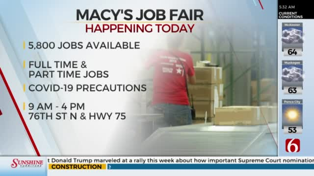 Macy's Holding Job Fair For Fulfillment Center Positions