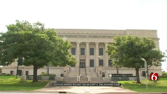 Supreme Court Rules Most Of Oklahoma Is Tribal Land