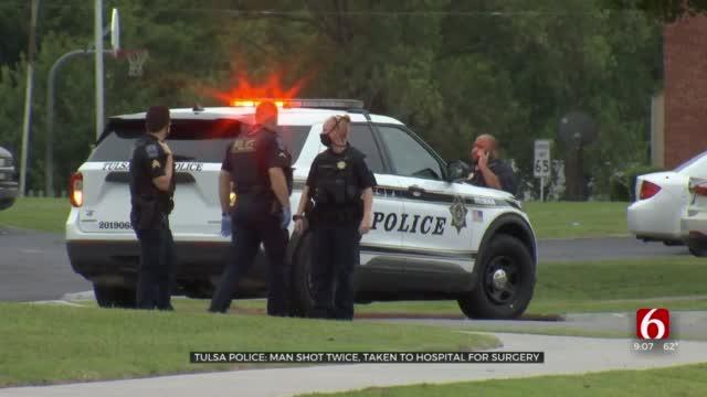 Police: 1 Victim Shot At Tulsa Apartment Complex