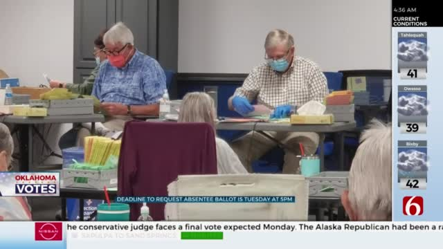 Tulsa Co. Election Board Warns Of Absentee Ballot Deadlines Approaching