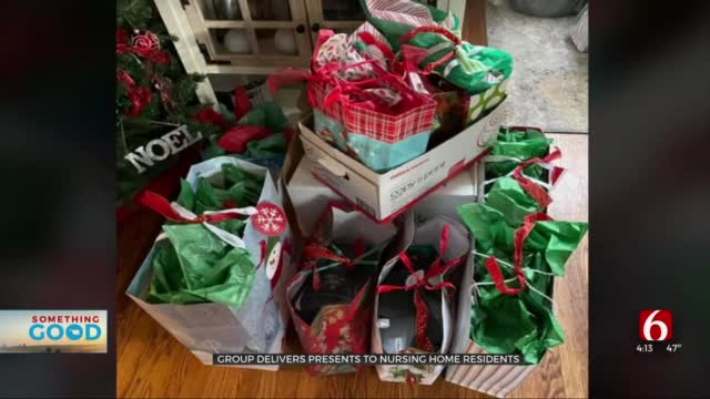 Group Passing Out Gifts To Seniors This Holiday Season