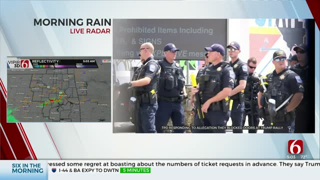 Tulsa Police Respond To Accusations That President Trump Supporters Were Blocked From Rally