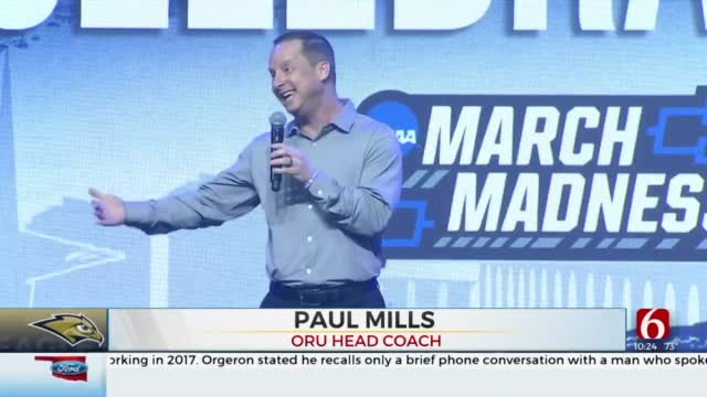 ORU Celebrates Men's Basketball Team's Sweet 16 Tournament Run